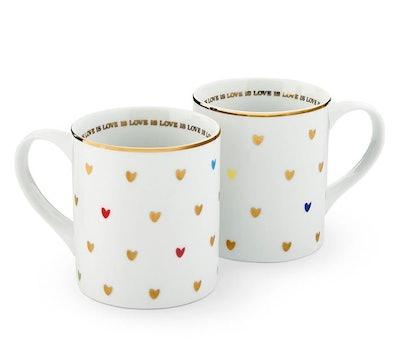 Rainbow Love is Love Mug