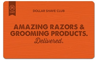 Dollar Shave Club Gift Cards - E-mail Delivery