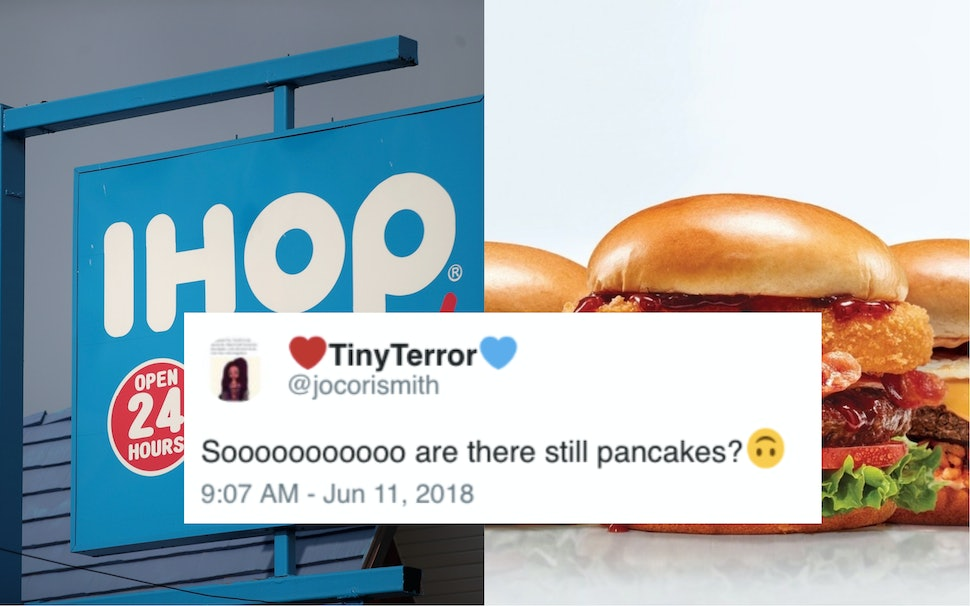 Image result for IHOP IHOB Tweet