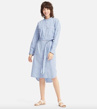 J.W. Anderson Extra Fine Cotton Striped Shirt Dress