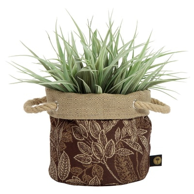 Nahla Fabric Floor Planter
