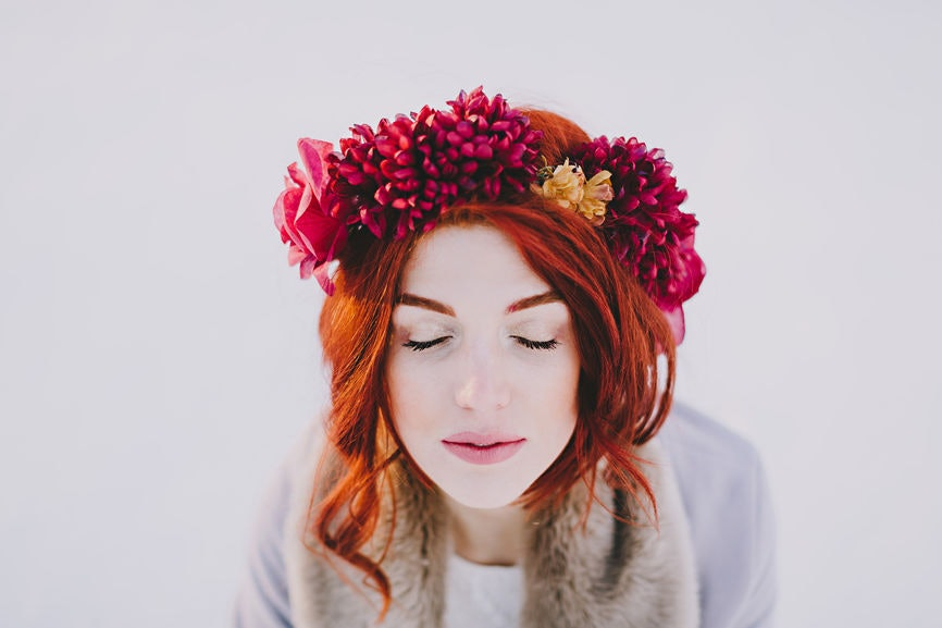 instagram captions for flower crown selfies that bloom