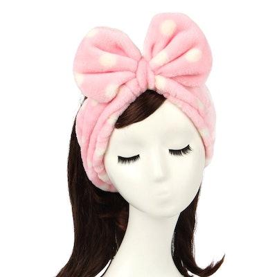 Shintop Bowknot Makeup Headband