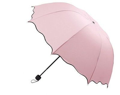 Printed Custom Auto Foldable Sun Rain Anti-UV Umbrella
