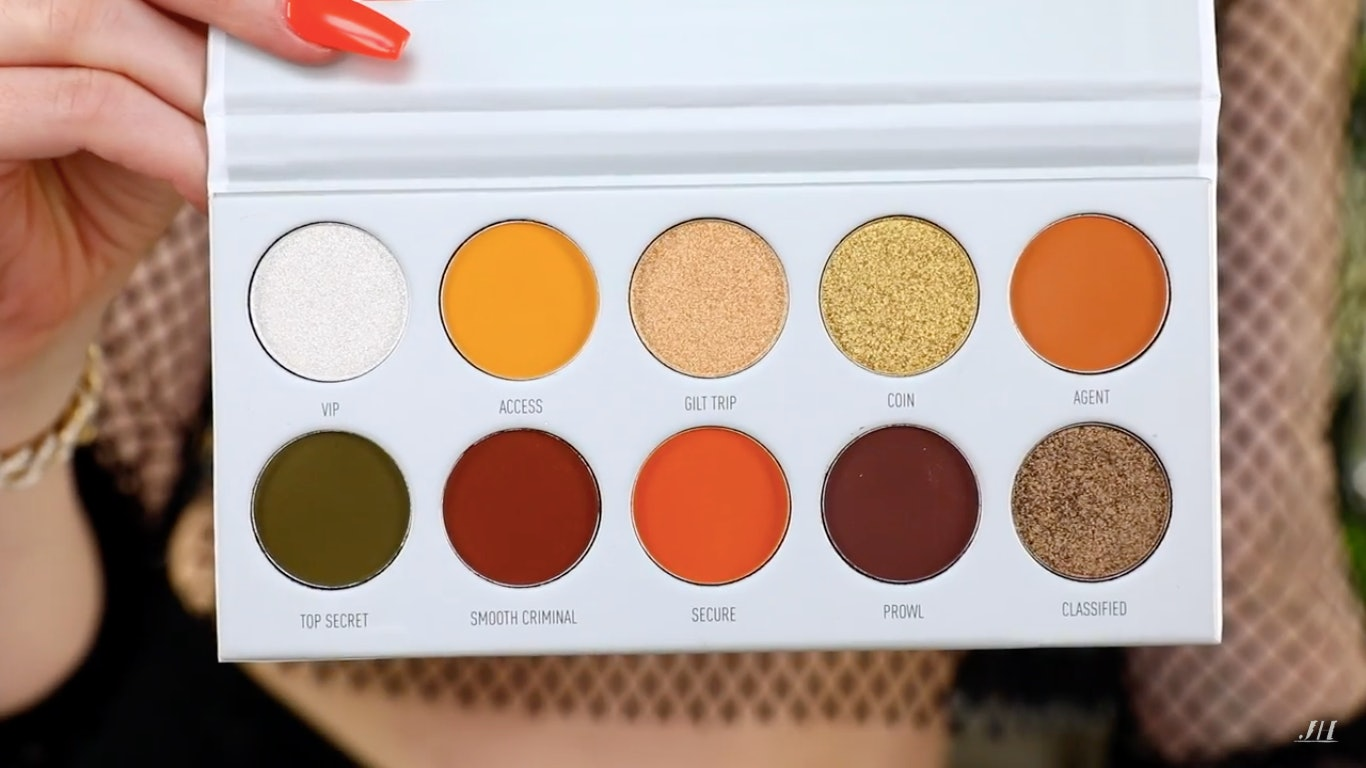 983ae304de0 What Colors Are The Jaclyn Hill x Morphe Vault Collection Palettes? These  Beauties Have Something For Everyone