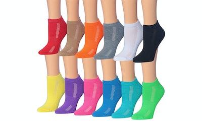 Tipi Toe Women's Low Cut Athletic Sports Performance Sock