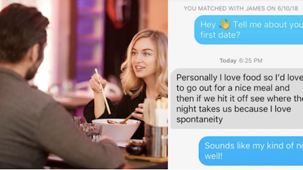 how to know if a first date went well