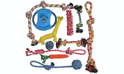 Pacific Pup Products Nearly Indestructible Rope Toys