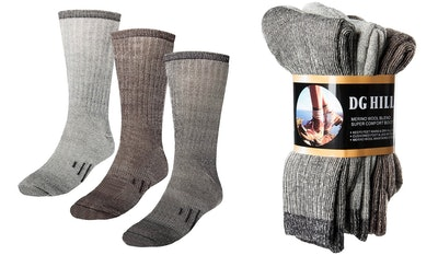 DG Hill Thermal 80% Merino Wool Socks