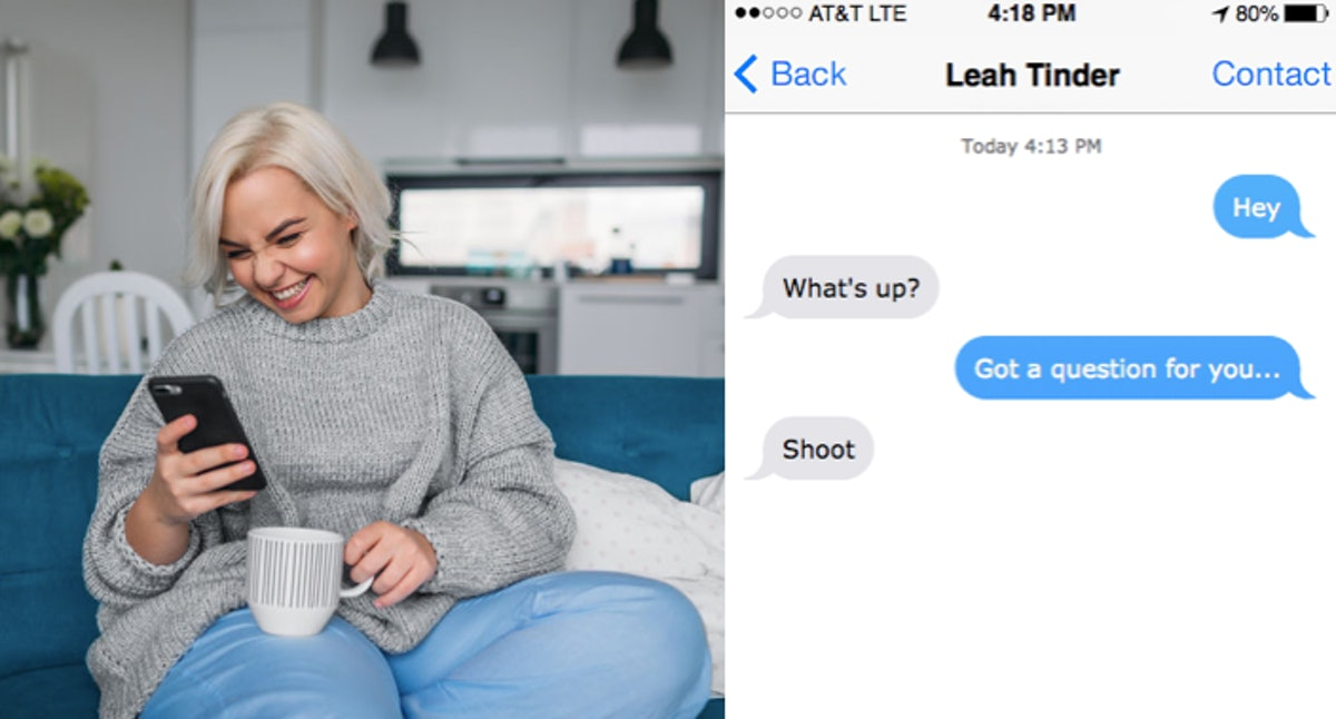 27 Questions To Ask Your Crush Over Text When You're Still Getting To Know Them