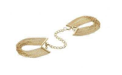 Magnifique Metallic Chain Handcuff Bracelets