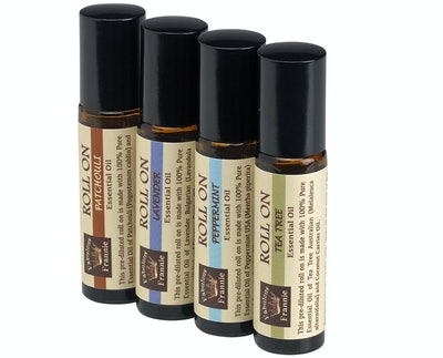 Fabulous Frannie Value 4 Pack Set Essential Oil Roll-Ons