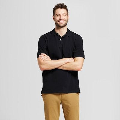Men's Standard Fit Fade Resistant Pique Polo