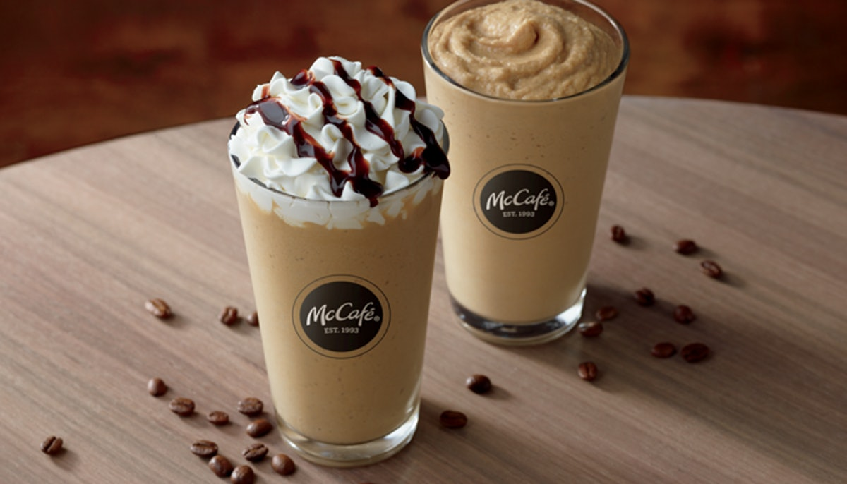 McCafé Released New Cold Brew Frozen Drinks & You're Going To Love Them