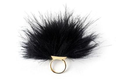 Golden Tickler Ring