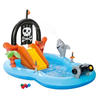 Intex Pirate Play Center Inflatable Pool with Sprayer