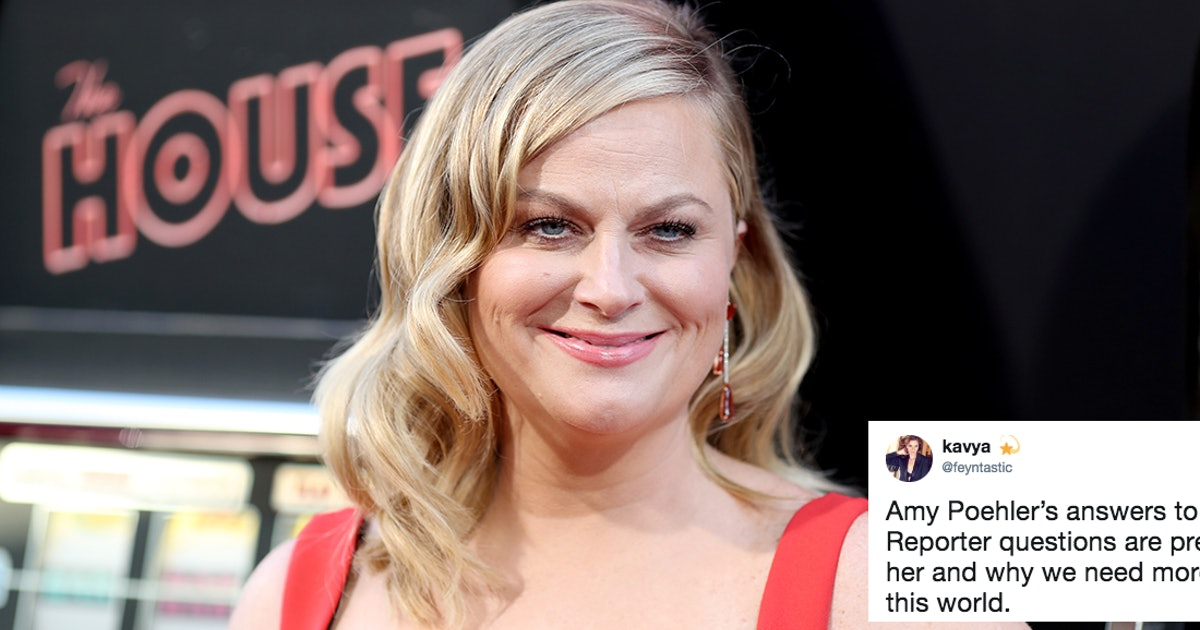 These Amy Poehler's Interview Answers Are Super Candid & Fans Are Loving It