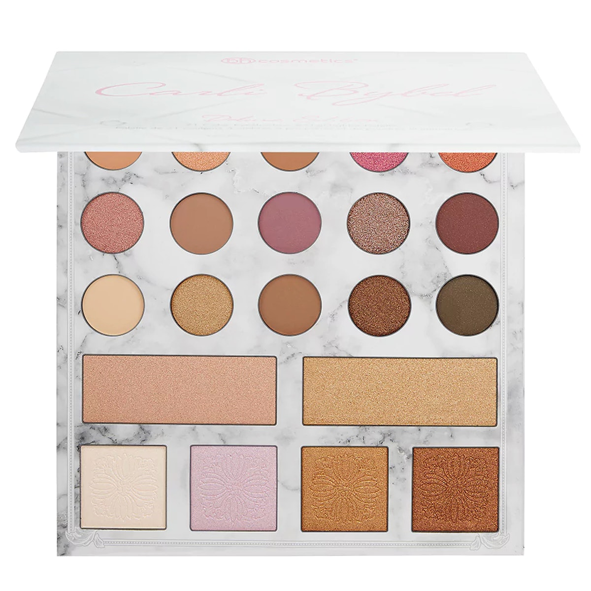 Carli Bybel Deluxe Edition 21 Color Eyeshadow & Highlighter Palette
