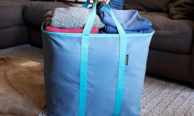 CleverMade SnapBasket Laundry Caddy
