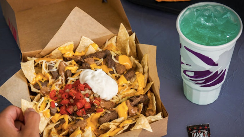 Taco Bell's $5 Steak Nacho Box Is Its Newest Affordable