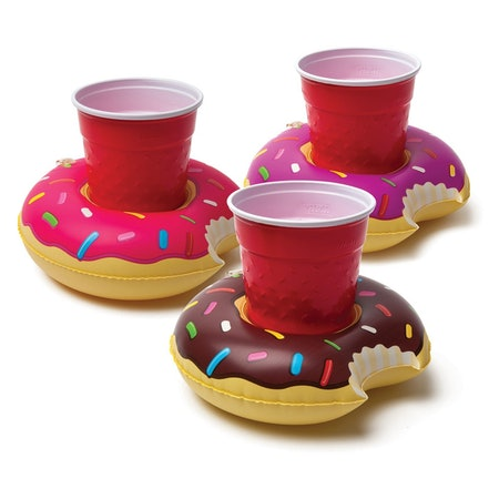 Big Mouth Toys Donuts Drink Floats 3-Pack