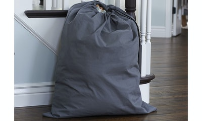 Household Essentials Extra Large Natural Cotton Laundry Bag