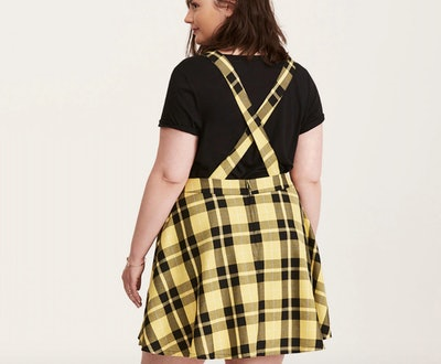 Harry Potter Hufflepuff Suspender Skirt