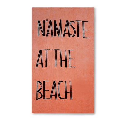 Namaste At The Beach Towel