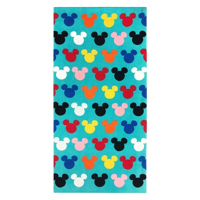 Disney Mickey Mouse Logo Beach Towel