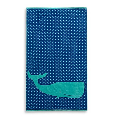 Whale Jacquard Beach Towel