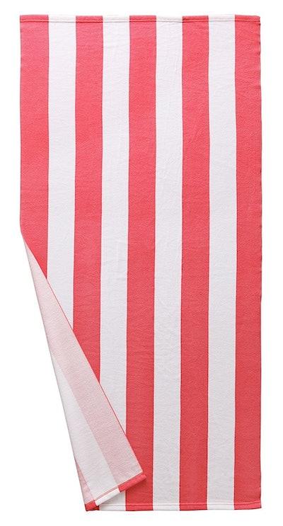 Microfiber Cabana Striped Beach Towel
