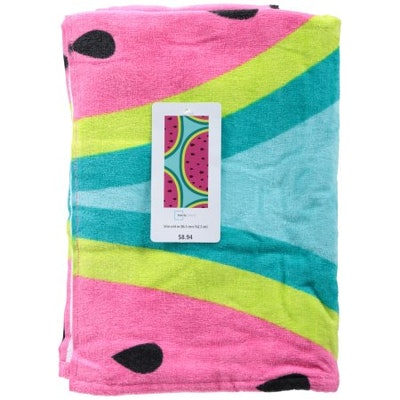 Mainstays Watermelon Beach Towel