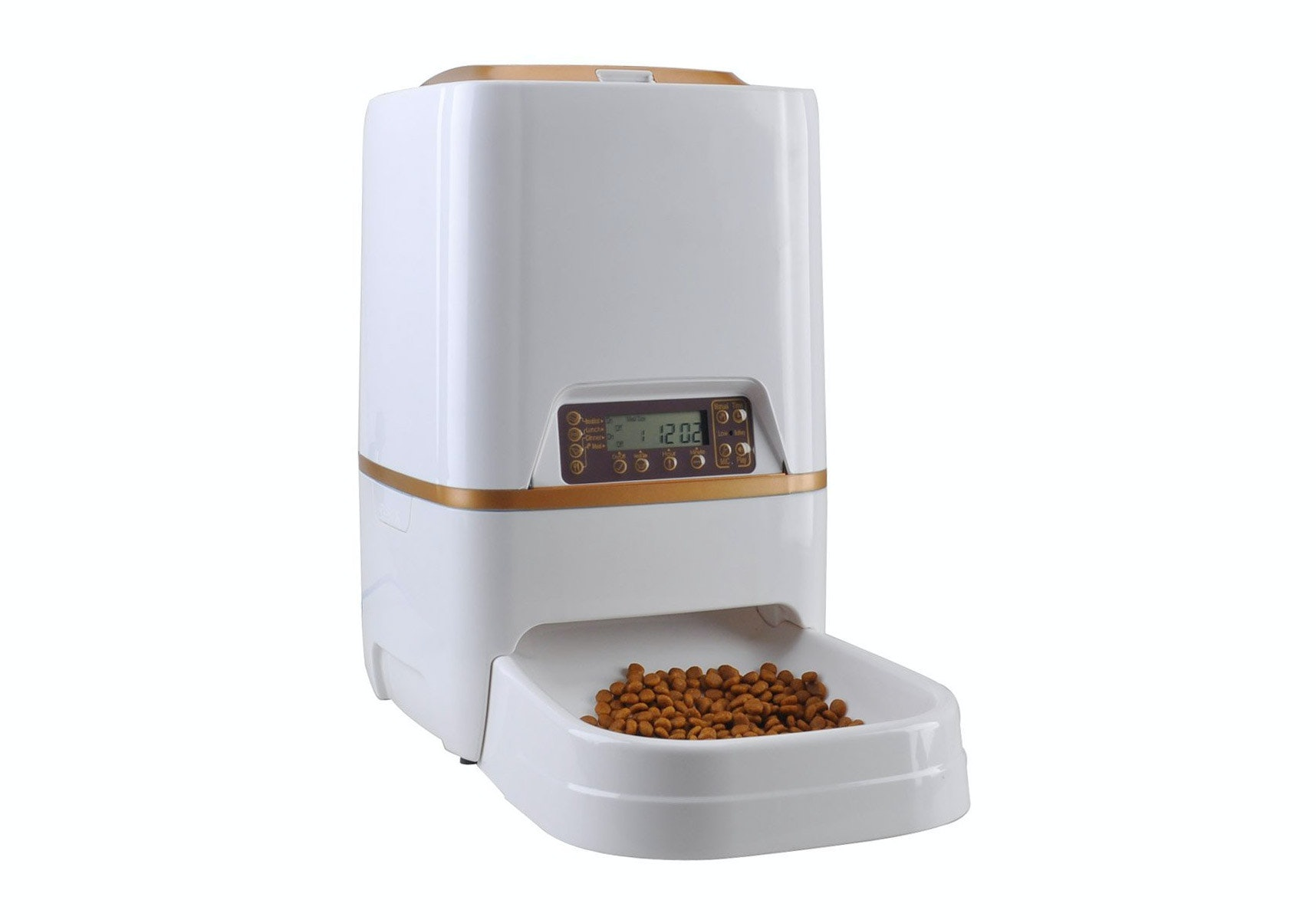 dog booster white wopet automatic dogs timer seat fashion carrier pet feeder brown