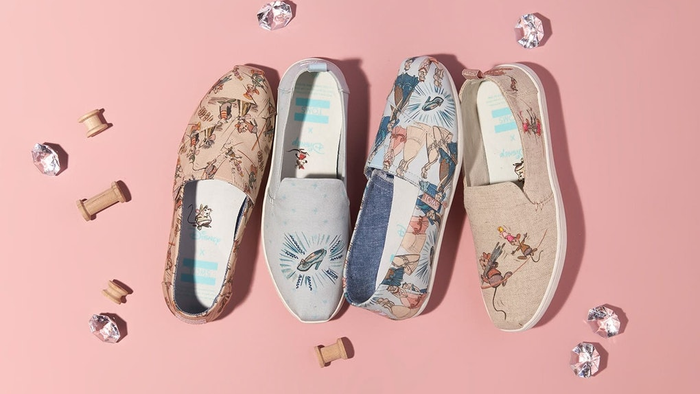 8ee9dc54a3 Disney x TOMS Shoes Release Date Is HERE & They're The Belle Of The Ball