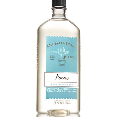 Bath & Body Works Aromatherapy Focus Eucalyptus & Tea Body Wash & Foam Bath