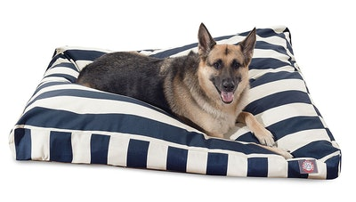 Majestic Pet Striped Rectangle Pet Bed In XL