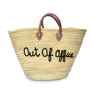Straw Tote — Out Of Office