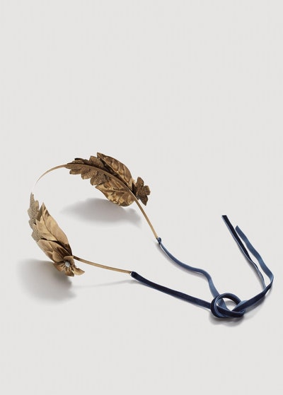 Metallic Leaf Hairband