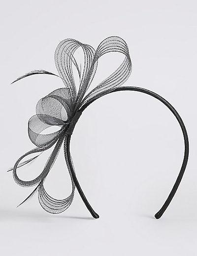 Textured Fascinator Bow