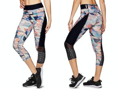 RBX Active Seasonal Print Capri Leggings