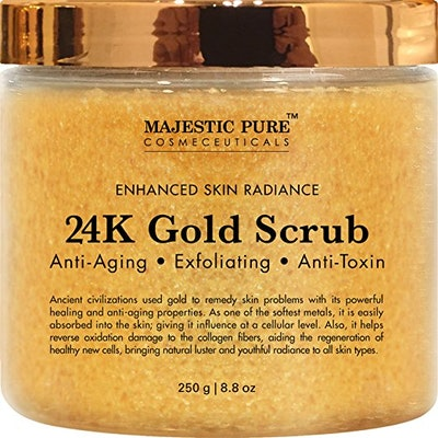 Majestic Pure 24k Gold Body and Facial Scrub