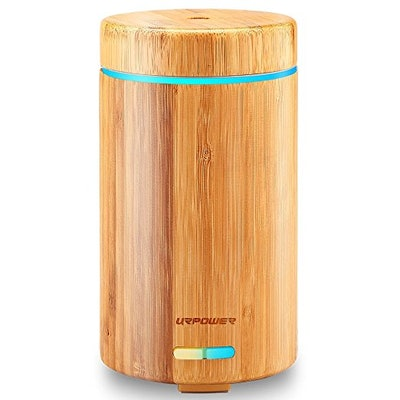 URPOWER Real Bamboo Essential Oil Diffuser