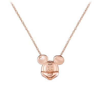 Mickey Mouse Diamond Necklace - 18 Karat