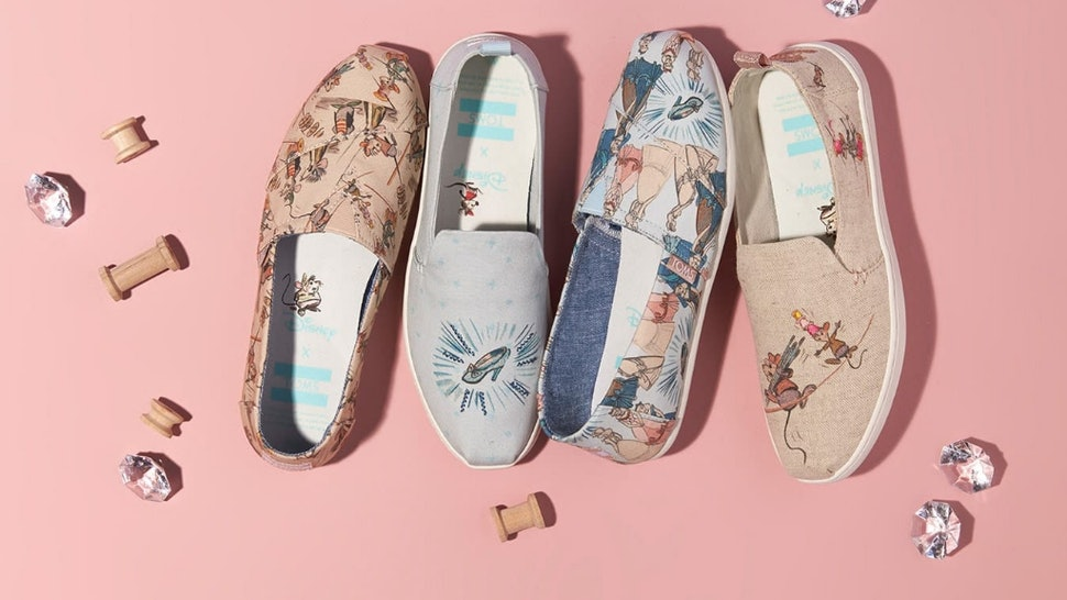 51c3c87f195 What s In The TOMS x Disney Cinderella Collection  It s Much More Than  Glass Slippers