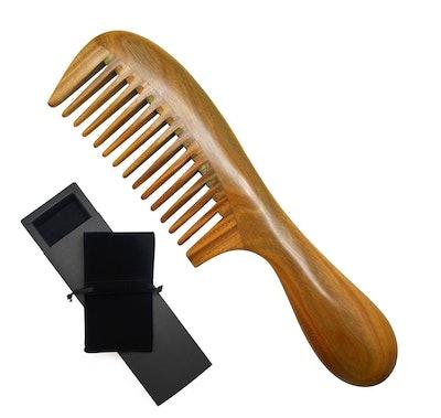 Meta-C Natural Sandalwood Comb