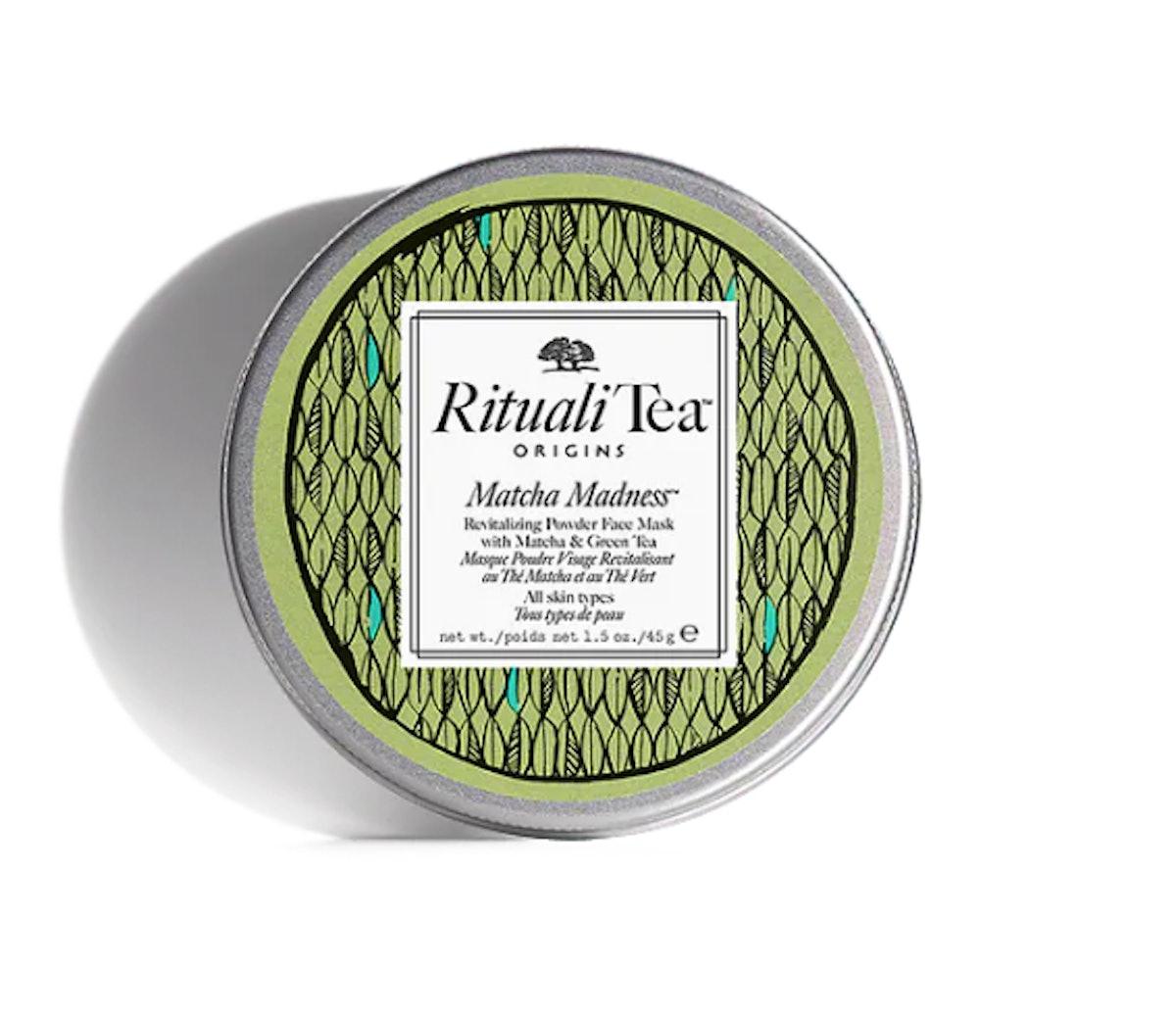 RitualiTea Matcha Madness Revitalizing Powder Face Mask