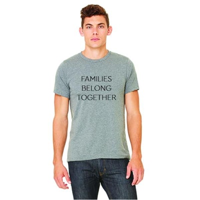 'Families Belong Together' Unisex Tee