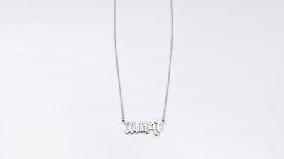 WILD AS F*CK NECKLACE