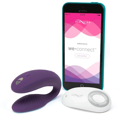 We-Vibe Sync Remote and App Control Rechargeable Couple's Vibrator