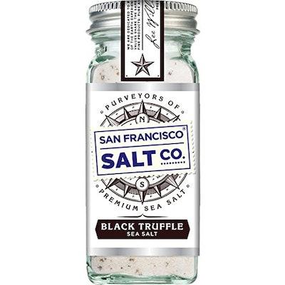 Authentic Italian Black Truffle Gourmet Sea Salt
